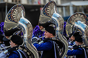 Downers Grove North Marching Band - The New Years Day parade passes through central London.