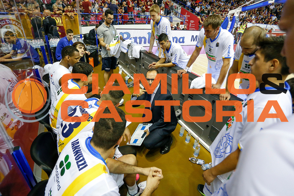 Gennaro Di Carlo<br /> Umana Reyer Venezia - Betaland Capo d'Orlando<br /> Lega Basket Serie A 2016/2017<br /> Venezia 09/10/2016<br /> Foto Ciamillo-Castoria