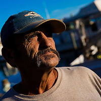 10/28/14 5:51:10 PM -- Cortez, FL, U.S.A  -- John Yates, a former commercial fisherman who was convicted under a major federal document-shredding statute for throwing undersized grouper overboard.  --    Photo by Chip J Litherland, Freelance