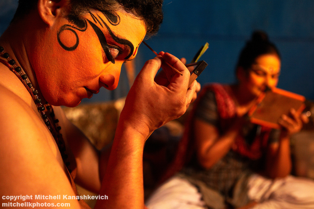 Festival on the outskirts of Thrissur (Trichur), Kerala, India,Traditions and culture