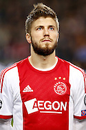 Onderwerp/Subject: Ajax - Champions League<br /> Reklame:  <br /> Club/Team/Country: <br /> Seizoen/Season: 2013/2014<br /> FOTO/PHOTO: Lasse SCHONE of Ajax. (Photo by PICS UNITED)<br /> <br /> Trefwoorden/Keywords: <br /> #09 $94 &plusmn;1377840750319<br /> Photo- &amp; Copyrights &copy; PICS UNITED <br /> P.O. Box 7164 - 5605 BE  EINDHOVEN (THE NETHERLANDS) <br /> Phone +31 (0)40 296 28 00 <br /> Fax +31 (0) 40 248 47 43 <br /> http://www.pics-united.com <br /> e-mail : sales@pics-united.com (If you would like to raise any issues regarding any aspects of products / service of PICS UNITED) or <br /> e-mail : sales@pics-united.com   <br /> <br /> ATTENTIE: <br /> Publicatie ook bij aanbieding door derden is slechts toegestaan na verkregen toestemming van Pics United. <br /> VOLLEDIGE NAAMSVERMELDING IS VERPLICHT! (&copy; PICS UNITED/Naam Fotograaf, zie veld 4 van de bestandsinfo 'credits') <br /> ATTENTION:  <br /> &copy; Pics United. Reproduction/publication of this photo by any parties is only permitted after authorisation is sought and obtained from  PICS UNITED- THE NETHERLANDS