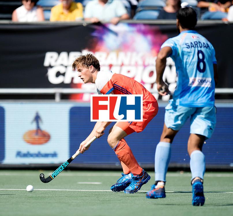 BREDA - Rabobank Hockey Champions Trophy<br /> The Netherlands - India<br /> Photo: Jorrit Croon.<br /> COPYRIGHT WORLDSPORTPICS FRANK UIJLENBROEK