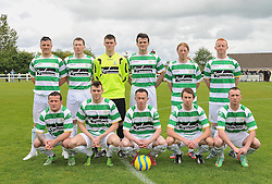 Castlebar Celtic Connaught Cup Final May 11th 2014.<br /> Pic Conor McKeown