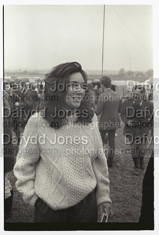 GHISLAINE MAXWELL, Bullingdon Point to Point, Kingston Blount. Oxford. March 1984
