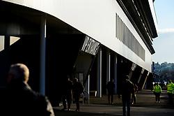 A general view of Ashton Gate VIP Entrance 1  - Mandatory by-line: Dougie Allward/JMP - 01/12/2019 - RUGBY - Ashton Gate - Bristol, England - Bristol Bears v London Irish - Gallagher Premiership Rugby