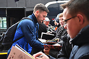 Ben Foster (1) of West Bromwich Albion signing his autograph for fans on arrival at the Vitality Stadium before the Premier League match between Bournemouth and West Bromwich Albion at the Vitality Stadium, Bournemouth, England on 17 March 2018. Picture by Graham Hunt.