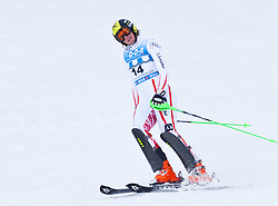 18.03.2011, Pista Silvano Beltrametti, Lenzerheide, SUI, FIS Ski Worldcup, Finale, Lenzerheide, Slalom Damen, im Bild Nicole Hosp (AUT) blickt nicht zufrieden im Zielraum auf der Lenzerheide. //  Nicole Hosp (AUT) is unhappy about her race  during Women´s Slalom, at Pista Silvano Beltrametti, in Lenzerheide, Switzerland, 18/03/2011, EXPA Pictures © 2011, PhotoCredit: EXPA/ J. Feichter