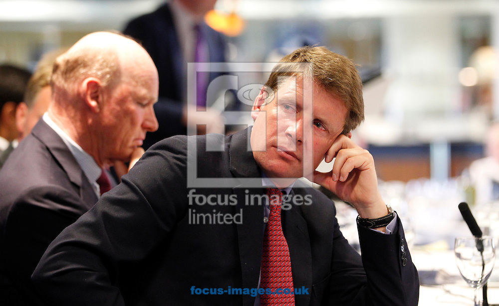 David Redvers on the panel for the Quipo Guineas Lunch at Newmarket Rowley, Newmarket<br /> Picture by John Hoy/Focus Images Ltd +44 7516660607<br /> 29/04/2014