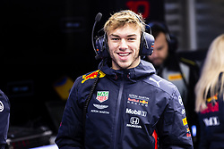 February 18, 2019 - Barcelona, Barcelona, Spain - Pierre Gasly from France with 10 Aston Martin Red Bull Racing - Honda RB15  portrait during the Formula 1 2019 Pre-Season Tests at Circuit de Barcelona - Catalunya in Montmelo, Spain on February 18, 2019. (Credit Image: © Xavier Bonilla/NurPhoto via ZUMA Press)
