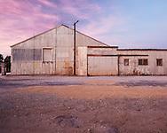 Dusk colours over the Lubritorium in Freeling, South Australia.
