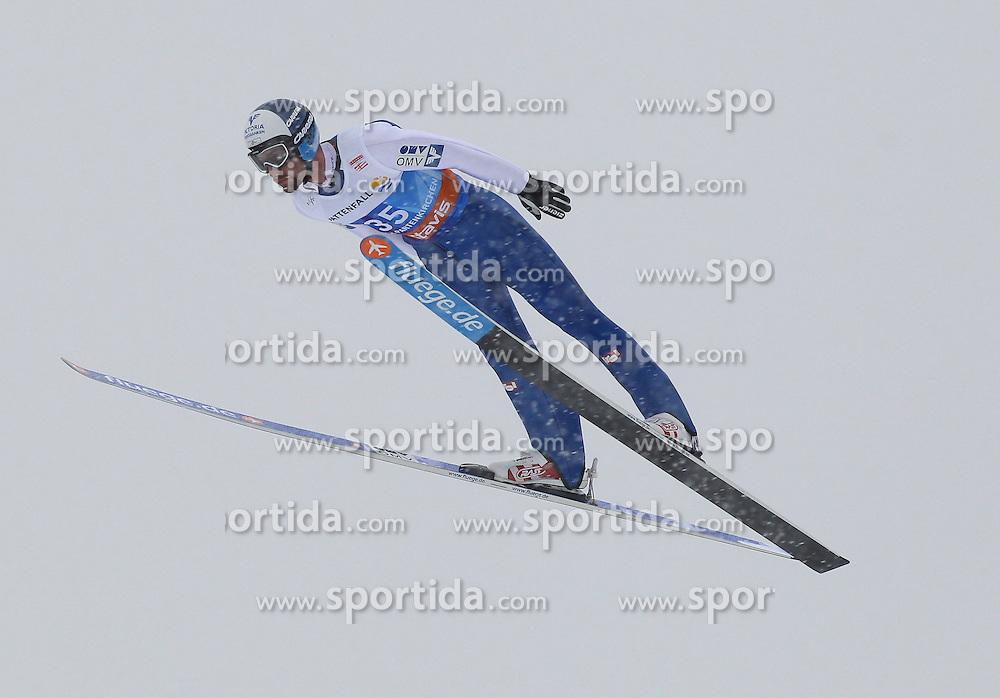 31.12.2011, Olympia Skisprungschanze, Garmisch Partenkirchen, GER, 60. Vierschanzentournee, FIS Ski Sprung Weltcup, Training, im Bild Wolfgang LOITZL (AUT) // Wolfgang LOITZL (AUT) during a practice session of 60th Four-Hills-Tournament FIS World Cup Ski Jumping at Olympia Skisprungschanze, Garmisch Partenkirchen, Germany on 2011/12/31. EXPA Pictures © 2011, PhotoCredit: EXPA/ Sven Kiesewetter