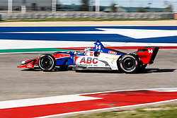 February 12, 2019 - U.S. - AUSTIN, TX - FEBRUARY 12: Tony Kanaan (14) in a Chevrolet powered Dallara IR-12 at turn 12 during the IndyCar Spring Training held February 11-13, 2019 at Circuit of the Americas in Austin, TX. (Photo by Allan Hamilton/Icon Sportswire) (Credit Image: © Allan Hamilton/Icon SMI via ZUMA Press)