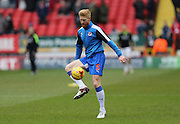 Reading defender Paul McShane (5) during the Sky Bet Championship match between Charlton Athletic and Reading at The Valley, London, England on 27 February 2016.
