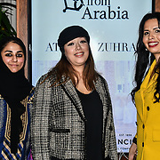 Fashionist attend Stories From Arabia Fashion Show AW19, De Vere Grand Connaught Rooms, London, UK. 16 Feb 2019.