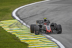 November 9, 2018 - Sao Paulo, Brazil - 20 MAGNUSSEN Kevin (dnk), Haas F1 Team VF-18 Ferrari, action during the 2018 Formula One World Championship, Brazil Grand Prix from November 08 to 11 in Sao Paulo, Brazil -  FIA Formula One World Championship 2018, Grand Prix of Brazil World Championship;2018;Grand Prix;Brazil  (Credit Image: © Hoch Zwei via ZUMA Wire)