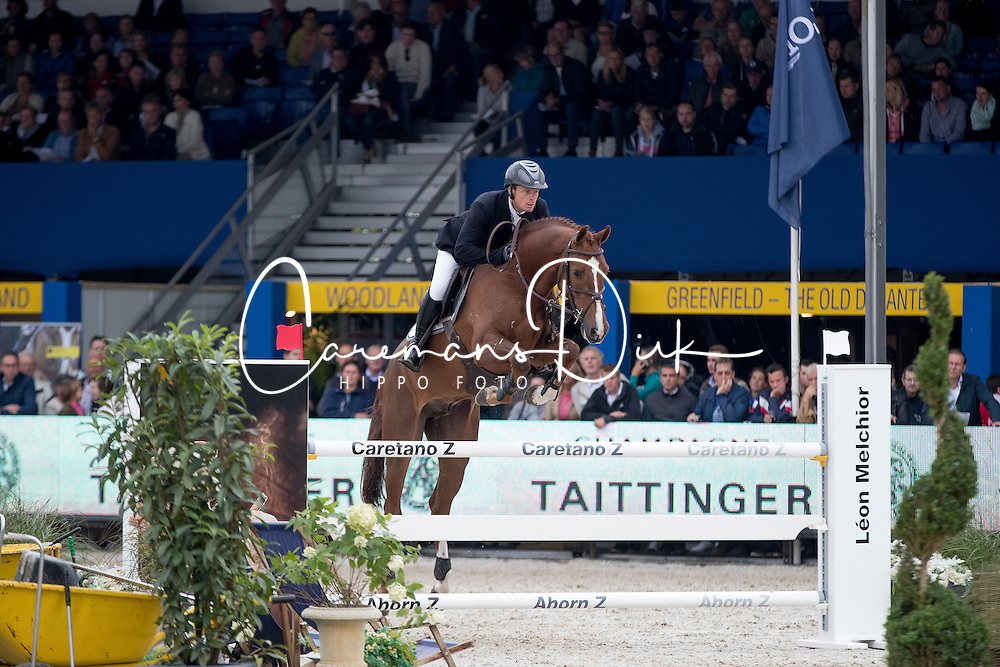 Greve Willem, NED, Garant<br /> FEI World Breeding Jumping Championships for Young horses - Lanaken 2016<br /> © Hippo Foto - Dirk Caremans<br /> 18/09/16