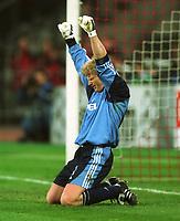 KAHN, Oliver. Fussballtorwart. FC Bayern München. Champions League. FC Bayern München - Manchester United  2:1