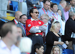Cardiff City Owner Vincent Tan   - Photo mandatory by-line: Alex James/JMP - Tel: Mobile: 07966 386802 31/08/2013 - SPORT - FOOTBALL - Cardiff City Stadium - Cardiff - Cardiff City V Everton - Barclays Premier League