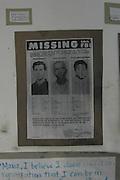 Freedom Summer Murder wanted poster for Shwerner, Chaney & Goodman the 3 missing civil rights workers. Wanted poster for the Freedom Summer civil rights workers who were murdered. Michael Schwerner, James Chaney, and Andrew Goodman. Photo©Suzi AltmanPhoto ©Suzi Altman