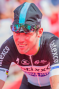 Mark Cavendish (the Manx Missile) of Etixx QuickStep - The London-Surrey Classic professional race. Prudential RideLondon a festival of cycling, with more than 95,000 cyclists, including some of the world's top professionals, participating in five separate events over the weekend of 1-2 August.