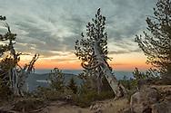 USA,Oregon, Central Oregon, Paulina Peak, Newberry National Volcanic Monument