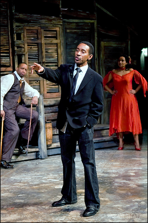 Director Charles Randolph-Wright directing the 75th anniversary production of Porgy and Bess. Presented by Michael Capasso and produced in association with Willette Murphy Klausner.