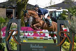 Van Grunsven Jens, (NED), Cika<br /> Nederlands kampioenschap springen - Mierlo 2016<br /> © Hippo Foto - Dirk Caremans<br /> 21/04/16