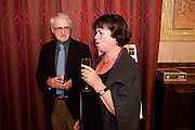 JOHN SUTHERLAND; URSULA OWEN, 30th Anniversary of the London Review of Books.  One Whitehall Place. ( National Liberal Club) London SW1. 29 October 2009