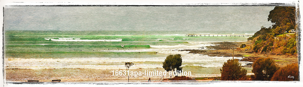winter swell at Lorne Point<br />