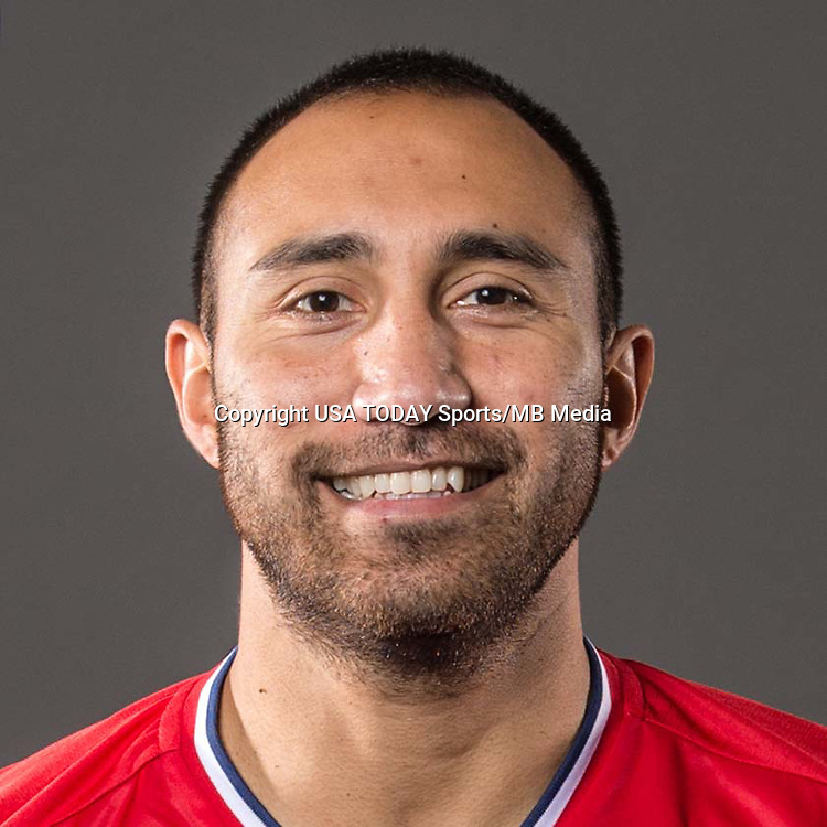Feb 25, 2017; USA; Chicago Fire player Arturo Alvarez poses for a photo. Mandatory Credit: USA TODAY Sports