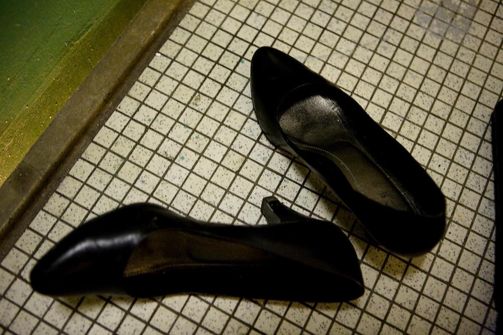 Arhus, Denmark, May 15, 2010. Aisha shoes.