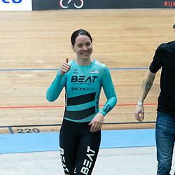 28-12-2019: Wielrennen: NK Baan: Alkmaar <br />Laurine van Riessen pakt de sprinttitel