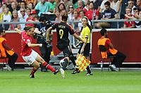 Fotball , EM , Norge - Tyskland 28.juli 2013 , kvinner ,  Sverige , Stockholm , Solna , europamesterskap, finale<br /> Toril Hetland<br /> Foto: Ole Marius Fjalsett