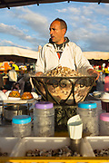 Traditional 'escargot,' local Marrakeshi / Moroccan cuisine dish, Marrakech, Morocco, 2015–04-20. <br />