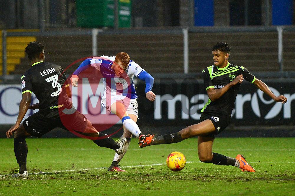 Rory Gaffney of Bristol Rovers takes a shot at goal - Mandatory by-line: Dougie Allward/JMP - 10/12/2016 - FOOTBALL - Memorial Stadium - Bristol, England - Bristol Rovers v Bury - Sky Bet League One