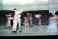 Choreographer, Pina Bausch's Tantztheater Wuppertal in Masurca Fogo, Sadler's Wells Theatre, London