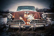 Saskatchewan Canada, Vintage Studebaker grill