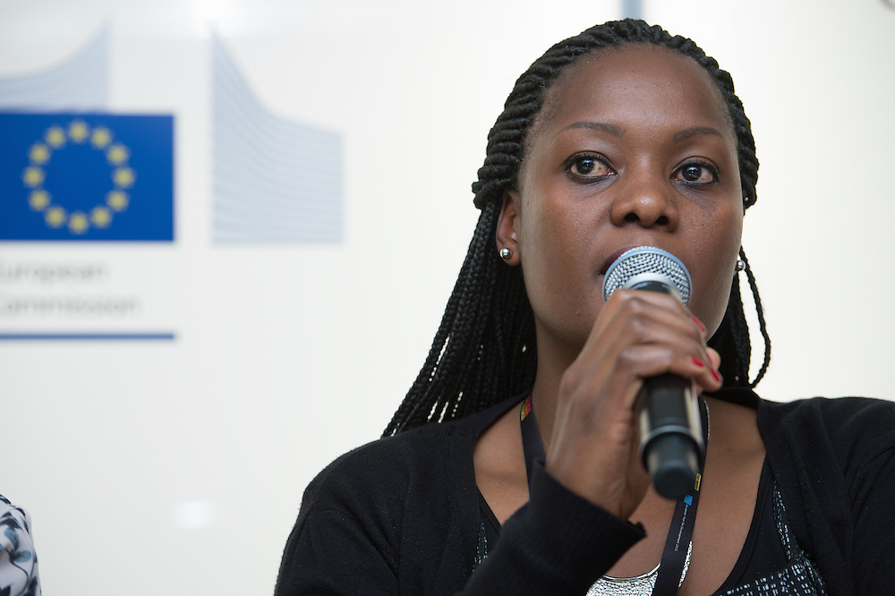 04 June 2015 - Belgium - Brussels - European Development Days - EDD - Citizenships - Accountability advocates - Youth voice at the heart of implementing the Sustainable Development Goals - Manka Kway , Speaker © European Union