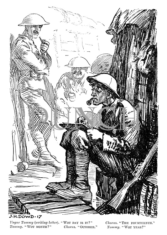 Punch Cartoons On Ww1 The Great War Punch Magazine Cartoon Archive