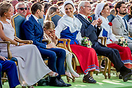 14-7-2017 BORGHOLM - Crown Princess Victoria's birthday<br />  Attendance at Victoria Day during the concert at Borgholm celebrations of Crown Princess Victoria's 40th birthday, Borgholm, Sweden 14 July 2017. <br /> The King Carl Gustav , The Queen Sofia , The Crown Princess Victoria , Prince Daniel, Prince Carl Philip, Princess Sofia, Princess Madeleine, Christopher O'Neill  princess Estelle COPYRIGHT ROBIN UTRECHT <br /> <br /> 14-7-2017 BORGHOLM - Kroonprinses 40 ste Victoria's verjaardag<br /> &nbsp; Bijwonen bij Victoria Day tijdens het concert op Borgholm viering van de 40ste verjaardag van de prinses Victoria, Borgholm, Zweden 14 juli 2017.<br /> De Koning Carl Gustav, De Koningin Sofia, De Kroonprinses Victoria, Prins Daniel, Prins Carl Philip, Prinses Sofia, Prinses Madeleine, Christopher O'Neill Prinses Estelle COPYRIGHT ROBIN UTRECHT