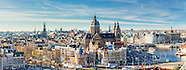Amsterdam Skyline Photography and Panoramic