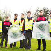 04.04.2017              <br /> ST. Munchins College, Corbally were out in force doing their bit for TLC3. Pictured are, Robbie Leamy, Ryan Naughton, Adam Quinn, Owen Walsh, Michael Spooner, Conor Monahan and Patrick Mitchell. Picture: Michael Andrews