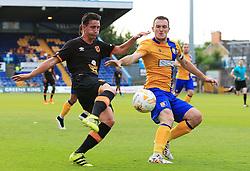 Greg Luer of Hull City fires a shot at goal  - Mandatory by-line: Matt McNulty/JMP - 19/07/2016 - FOOTBALL - One Call Stadium - Mansfield, England - Mansfield Town v Hull City - Pre-season friendly