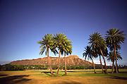 Diamond Head, Kapiolani Park, Waikiki, Oahu, Hawaii<br />