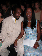 Wyclef Jean & wife Marie Claudinette Pierre-Jean<br />