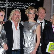 NLD/Den Haag/20111114 - Perslunch Virgin Galactic iav Sir Richard Branson, oa Ronald Heister en Cosmonaut Sergei Zhukov