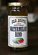 Arkansas Democrat-Gazette/BOB COLEMAN<br /> Bryant Preserving's  pickled watermelon rinds.  8/26/08