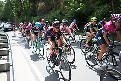 Leah Thorvilson (USA) of CANYON//SRAM Racing rides mid-pack during Stage 1 of the Lotto Thuringen Ladies Tour - a 124.8 km road race, starting and finishing in Schleiz on July 13, 2017, in Thuringen, Germany. (Photo by Balint Hamvas/Velofocus.com)