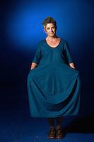 Edinburgh International Book Festival 2013 portait of Denise Mina at Charlotte Square Garden <br /> <br /> Pic by Pako Mera
