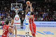 DESCRIZIONE : Campionato 2014/15 Dinamo Banco di Sardegna Sassari - Olimpia EA7 Emporio Armani Milano<br /> GIOCATORE : Rakim Sanders<br /> CATEGORIA : Tiro Tre Punti<br /> SQUADRA : Dinamo Banco di Sardegna Sassari<br /> EVENTO : LegaBasket Serie A Beko 2014/2015<br /> GARA : Dinamo Banco di Sardegna Sassari - Olimpia EA7 Emporio Armani Milano<br /> DATA : 07/12/2014<br /> SPORT : Pallacanestro <br /> AUTORE : Agenzia Ciamillo-Castoria / Luigi Canu<br /> Galleria : LegaBasket Serie A Beko 2014/2015<br /> Fotonotizia : Campionato 2014/15 Dinamo Banco di Sardegna Sassari - Olimpia EA7 Emporio Armani Milano<br /> Predefinita :
